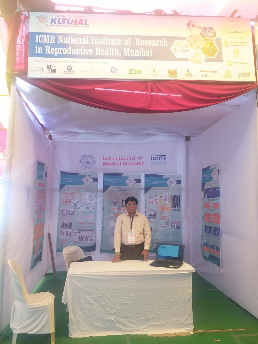 ICMR-NIRRH at Kutuhal, a medical science awareness program held at Nagpur, February 9-11, 2019.