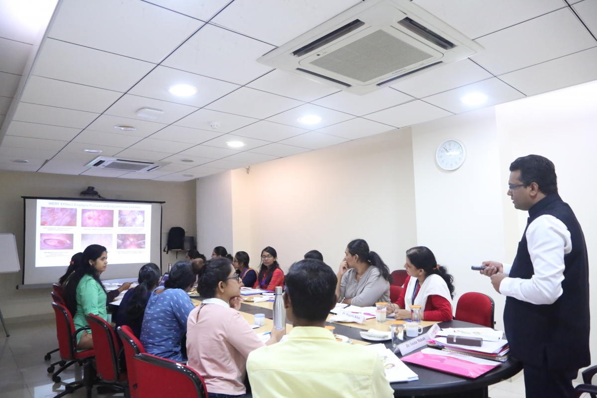 """Training Program for Project staff  from study sites at  North East, East, North, Central, West and South Zones under Wellcome DBT India Alliance Funded Research Project """"Clinical Phenotypes and Genetic Regulation of Endometriosis in Indian Women"""" December 12-14 2019"""