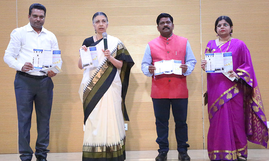 Dr Smita Mahale, Director, ICMR - NIRRH Mumbai released the Endometriosis patient information broucher on 13th March 2020 at Mumbai